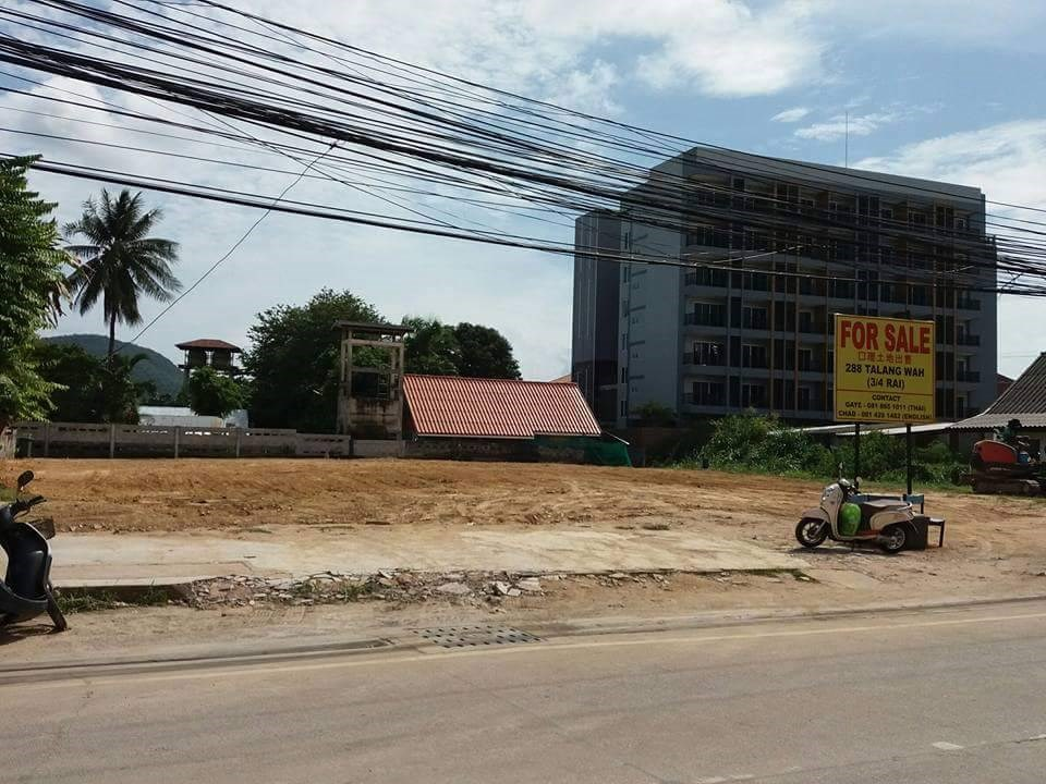 Land in Bang Saray town - Land - Bang Saray -